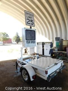 2005 MPH Industries Radar Speed Sign System