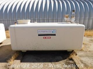 Trosco Supervault 1,000 Gallon UL 2085 Above Ground Fuel Tank