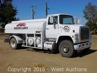 1980 Ford 800 2,000 Gallon Airport Fuel Truck