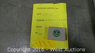 "SS Plastic Lens Gauge 2.5""  100 PSI"