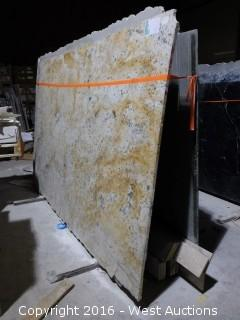 (17) Granite Slabs with Remnants