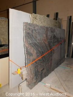 (16) Granite Slabs with Remnants