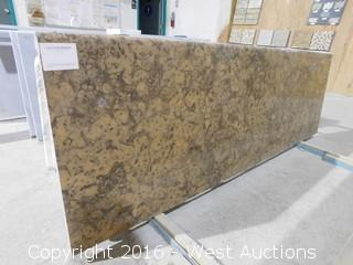 "(1) 75""x26"" Pre-Fabricated Gray Duavesa Granite Countertop"