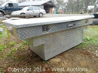 SEC Auto-Lifting Stainless Steel Toolbox 5'x20""
