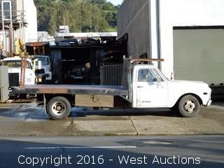Chevrolet Custom Flatbed Truck