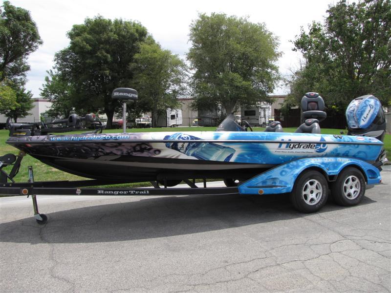 2005 Ranger 521VX Comanche Bass Fishing Boat