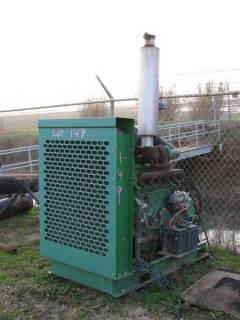 (2) JD Pump Engines on Skids
