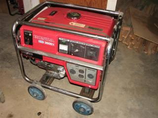 Honda Portable Generator - Model EM3500 X