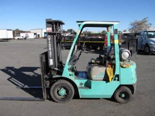 Mitsubishi Propane Warehouse Forklift