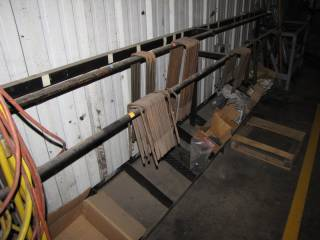 (2) Metal Racks and Contents