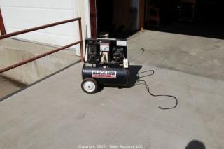 Black Max 2 1/2 HP Compressor