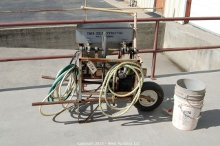 Tim's Gold Extractor with Briggs & Stratton 2 HP motor