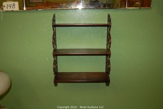 Wall Shelf in 2 Pieces