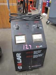 Solar 6/12 Volt Battery Charger