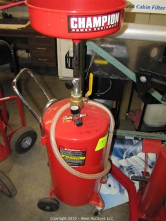 CHAMPION Power Equipment Fluid Recovery System