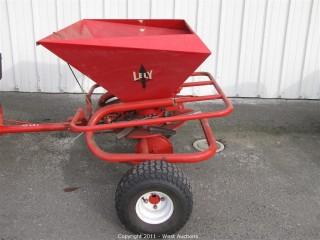 Lely 300 Liter Towable Fertilizer Spreader
