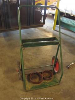 Acetylene Torch Kit Cart