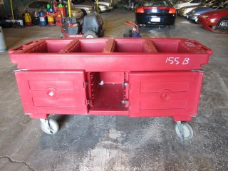 Portable Food Service Cart