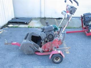 Toro Greensmaster 1000 Mower with Trailer