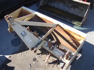 Land Pride 6' Scraper Box with (6) Rippers