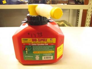 Gas Can - 1.25 Gallon