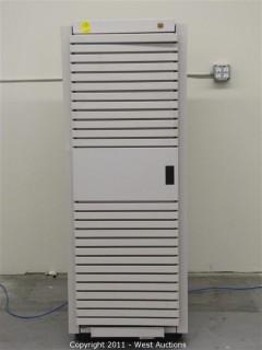 Server/Power Supply Cabinet with Wavecrest Communication Signal Analyzer