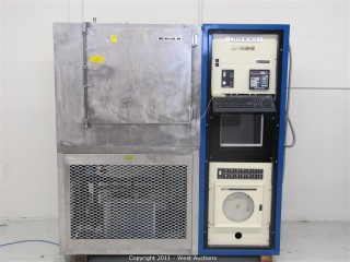 Single Oven Chip Burner with  Blue M Environmental Chamber