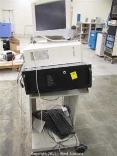 HP Test Cart with Sonic View Panel VG150,  IBM Personal Computer, Keyboards and more