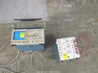Tektronix 2465B Analog Oscilloscope with Triple Output Power Supply