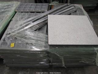 (3) Pallets ESD Tile 2' x 2'  (Anti-Static)