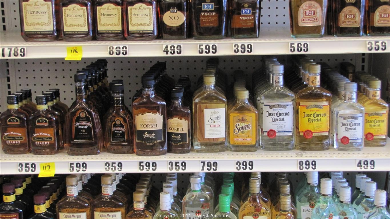 beer store prices west auctions auction liquor liquidation in 10097