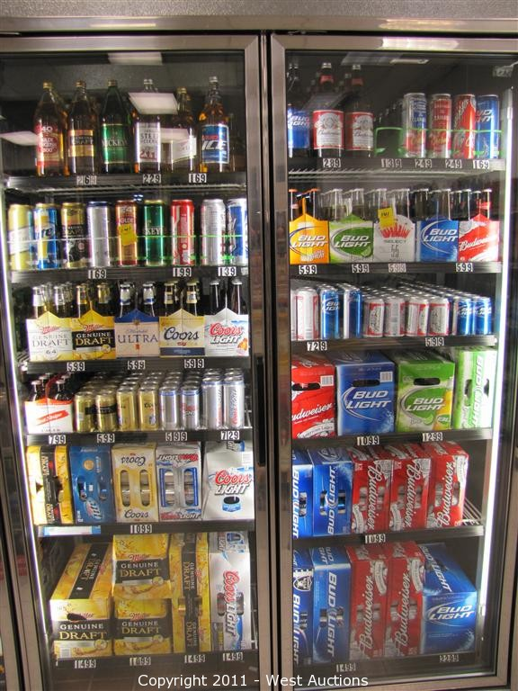 West Auctions Auction Liquor Store Liquidation In