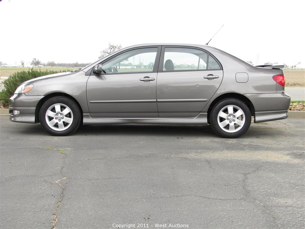 Good 2006 Toyota Corolla S