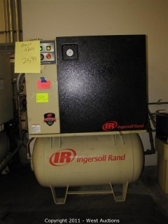 Ingersoll Rand Rotary Screw Air Compressor UP6-15C-125
