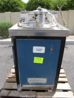 Denver Glass Machinery Turntable Diamond Disk Grinder
