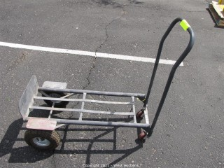 Rolling Metal Cart  Dolly with Pow Kukley III Busway Fusable Switch