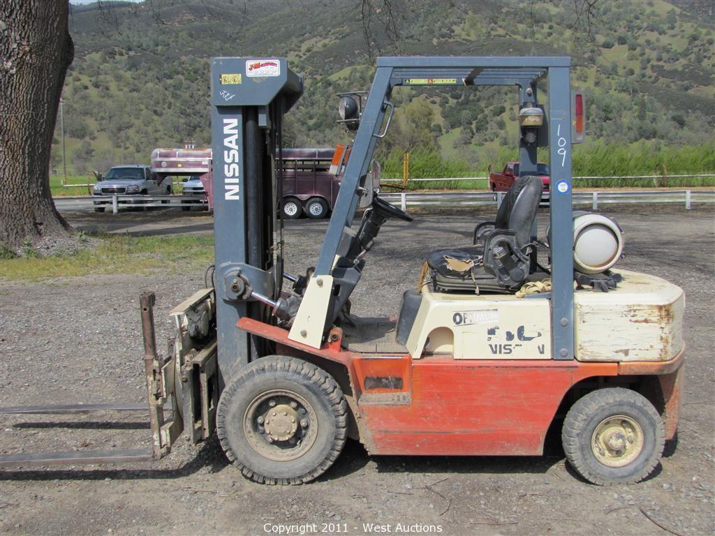 2 Nissan Optimum Forklifts