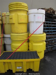 (8) Containment Barrels and (1) Secondary Containment Pallet