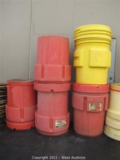 (5) Containment Barrels