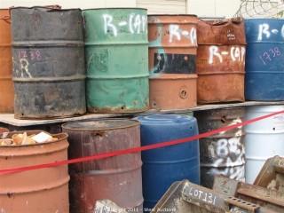 Contents of (27) Barrels - Caps, Pins Clamps and More