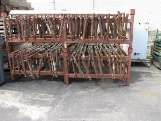 (4) Storage Frames of Scaffold Forms