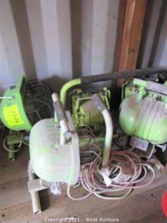 (5) Construction Floor Lamps