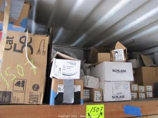 Contents of Shelf - Door Hardware and More
