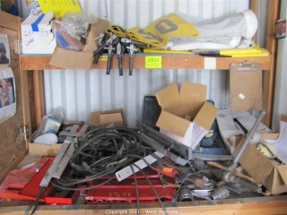 Contents of Work Bench -