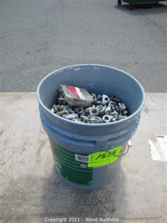 """Bucket of 3/8"""" Cable Clamps"""