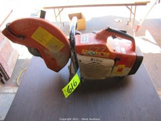 "Stihl TS400  14"" Gas Powered Saw"