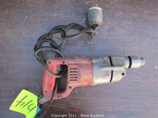 "Milwaukee HD Variable Speed 1/2"" Drill"