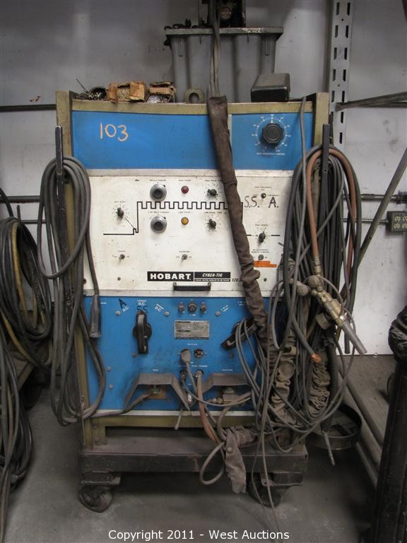 Hobart Tig Welder >> West Auctions Auction Liquidation Of West Valley Welding