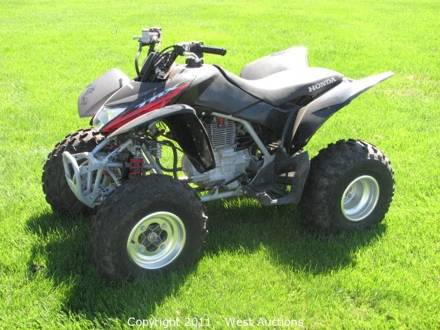 West auctions auction 2006 polaris sportsman 2007 for Honda of carson