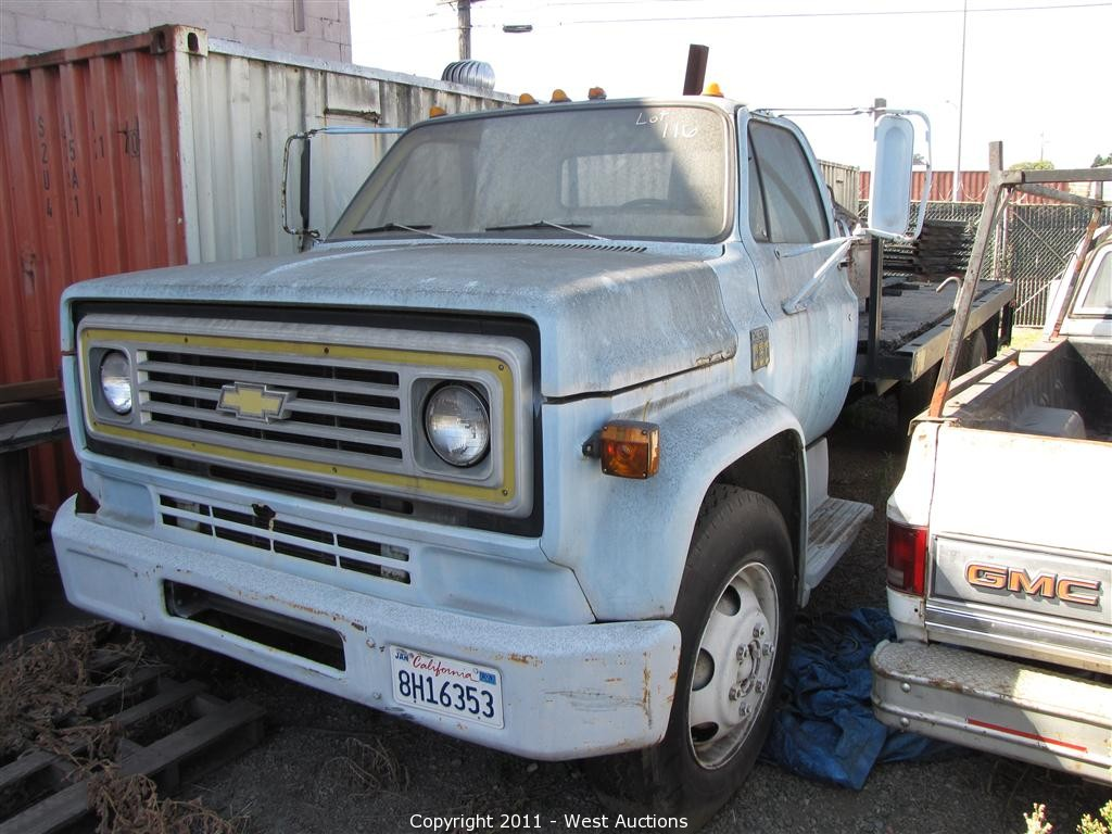 All Chevy chevy c60 West Auctions - Auction: Metalworking Equipment, Utility Trucks ...